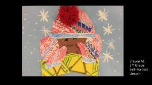 Artwork by Stevon, Grade 2